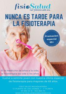 Promoción para mayores de 65